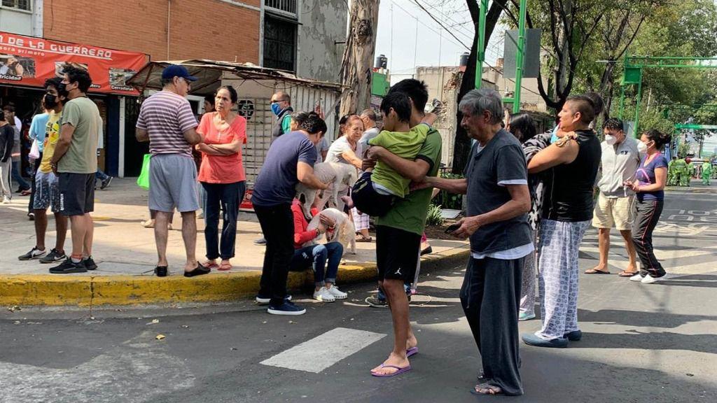 Un terremoto de magnitud 7,5 sacude Oaxaca, México