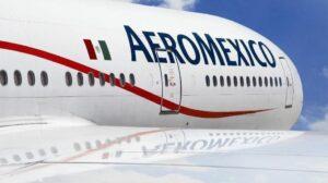 Avión de Aeromexico