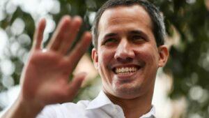 El líder opositor y autoproclamado presidente de Venezuela, Juan Guaidó