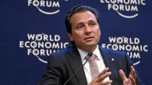 El exdirector general de Pemex Emilio Lozoya