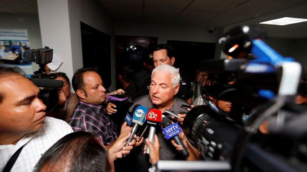 El expresidente de Panamá, Ricardo Martinelli