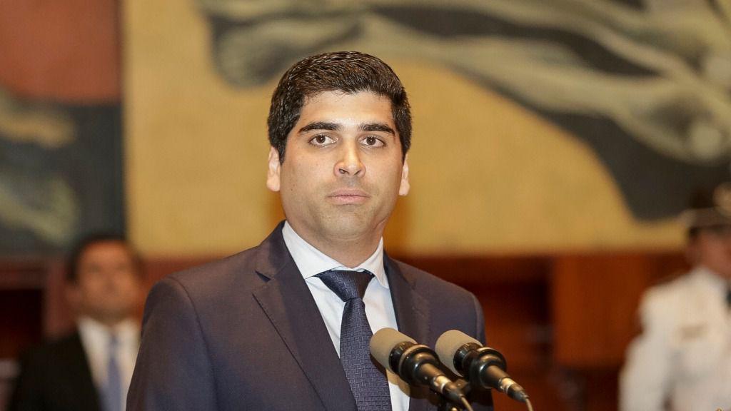 El vicepresidente de Ecuador, Otto Sonnenholzner