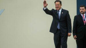 El ex presidente de Panamá Juan Carlos Varela