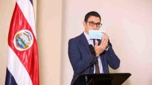 Daniel Salas, ministro de Salud de Costa Rica