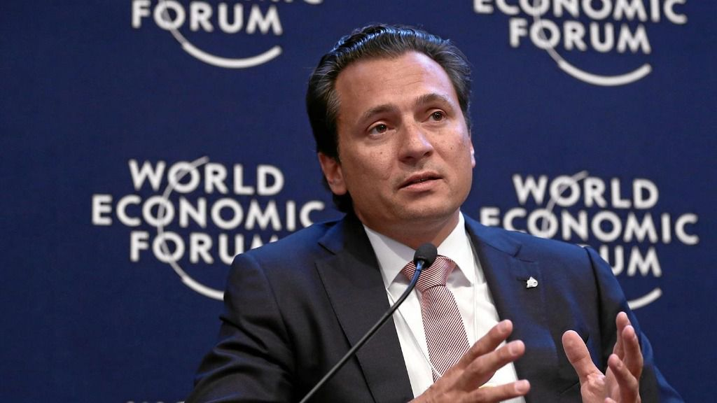 El ex director de la petrolera Pemex Emilio Lozoya