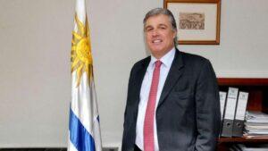 El ministro de Exteriores de Uruguay, Francisco Bustillo