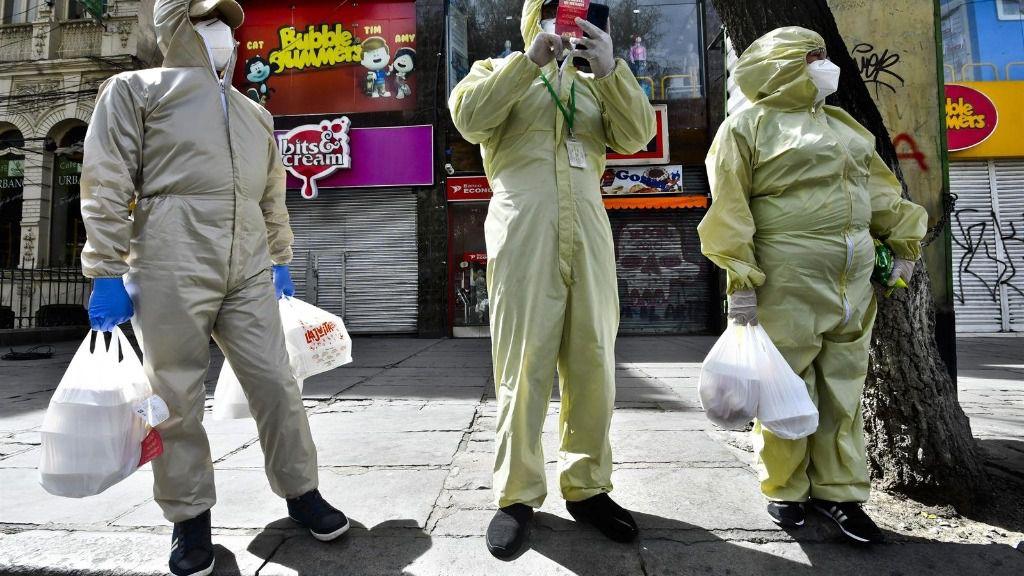 La capital de Bolivia, La Paz, durante la pandemia de coronavirus