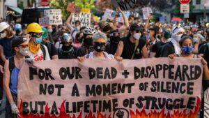 Protestas antirracistas en Nueva York, Estados Unidos