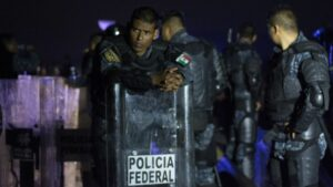 Agentes de la Policía Federal de México