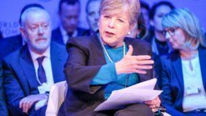 La secretaria ejecutiva de la Comisión Económica para América Latina y el Caribe (Cepal), Alicia Bárcena