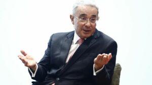 El expresidente de Colombia Álvaro Uribe (2002-2010)
