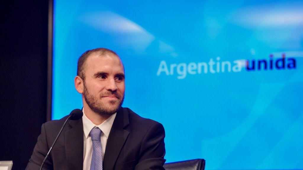 El ministro argentino de Economía, Martín Guzmán