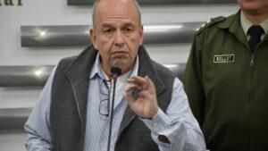 El ministro de Gobierno de Bolivia, Arturo Murillo