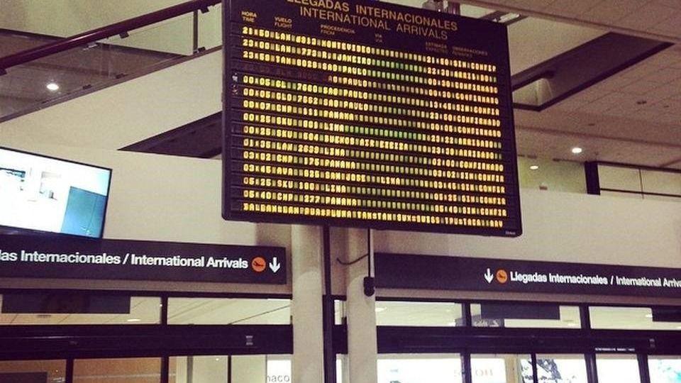 Aeropuerto Santiago de Chile