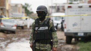 Agente de la guardia Nacional de México