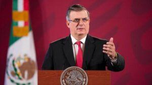 El secretario de Relaciones Exteriores de México, Marcelo Ebrard