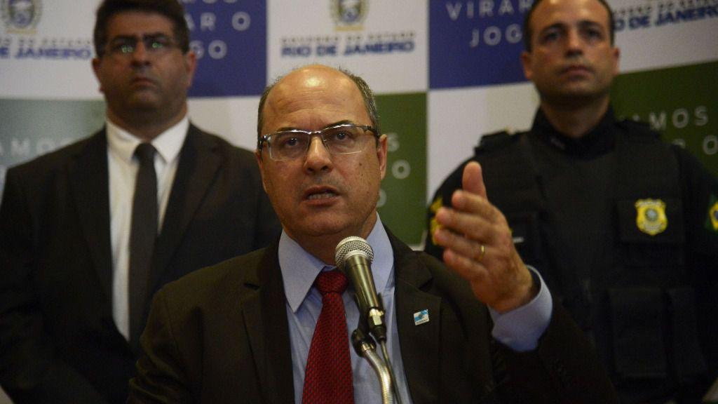 El gobernador de Río de Janeiro, Wilson Witzel