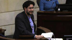 El senador Iván Cepeda, del Polo Democratico