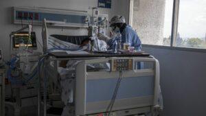 Un hospital en Chihuahua, México, durante la pandemia de coronavirus