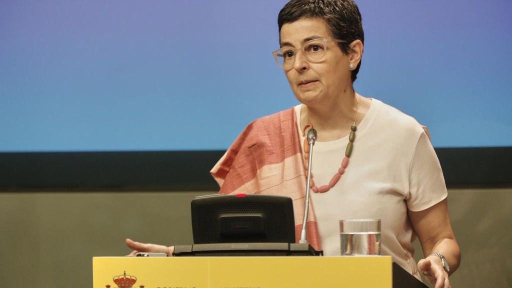 La ministra de Asuntos Exteriores de España, Arancha González Laya
