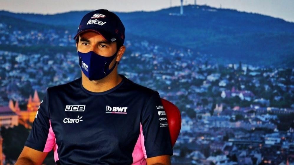 El piloto de Fórmula 1 Sergio Pérez