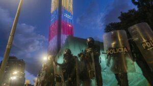 Agentes de la Policía de Colombia
