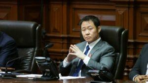 El excongresista del partido político peruano Fuerza Popular, Kenji Fujimori