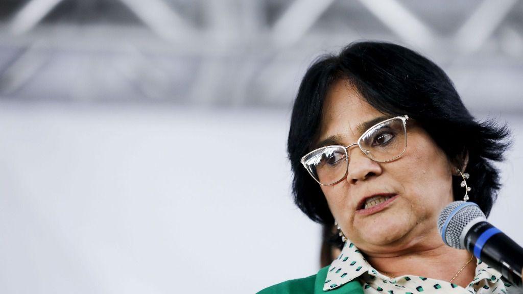 La ministra de la Mujer, la Familia y Derechos Humanos de Brasil