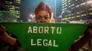 Manifestación a favor del aborto