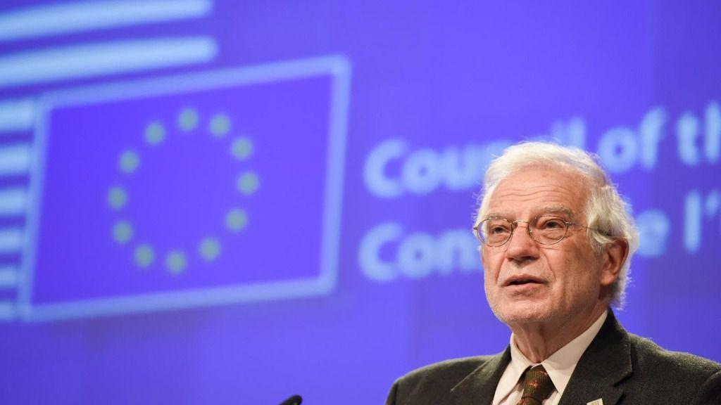 El Alto Representante de la UE para Política Exterior, Josep Borrell