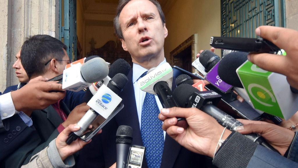 Jorge Tuto Quiroga, candidato a la Presidencia de Bolivia