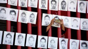 Homenaje a los 43 estudiantes de Ayotzinapa