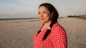 La activista colombiana Mayerlín Vergara Pérez