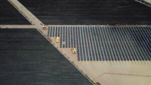Vista de una campo de paneles solares de la empresa Fortius, el 6 de agosto de 2019 en el estado de Jalisco (México)