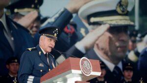 El exministro de Defensa de México, el general Salvador Cienfuegos