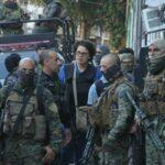 Policía Militar durante un operativo en una favela de Río de Janeiro