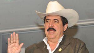 El expresidente de Honduras Manuel Zelaya