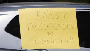 Protestas contra el nombramiento del juez Kassio Marques para sustituir a Celso de Mello en el Tribunal Supremo de Brasil