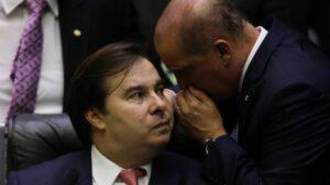El presidente de la Cámara de Diputados de Brasil, Rodrigo Maia
