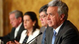 El presidente de Ecuador, Lenín Moreno