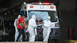 Trabajadores de un hospital de Ciudad de México