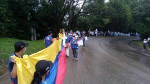 Marcha por la Vida y por la Paz de la FARC para exigir el fin de la violencia y que se cumplan los Acuerdos de Paz