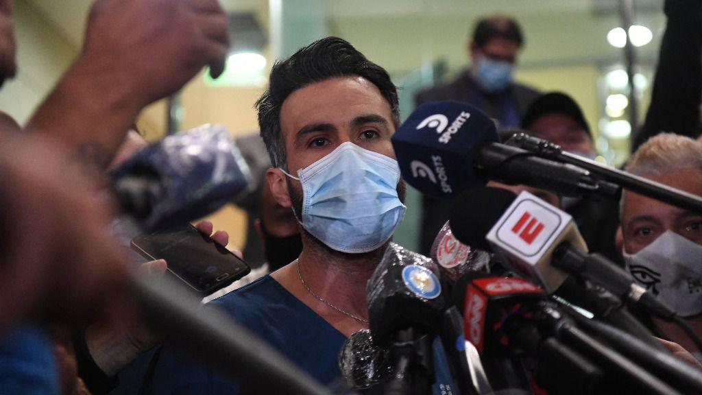 Leopoldo Luque, médico de Diego Maradona