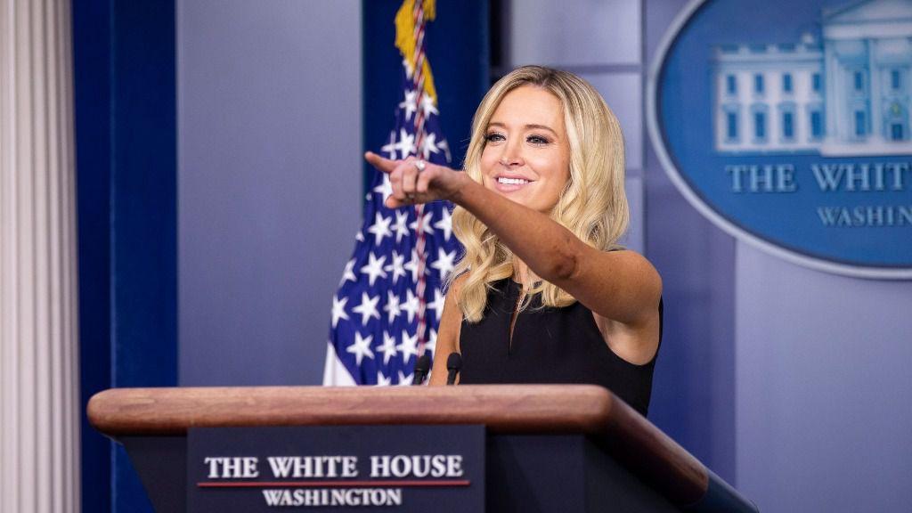 Kayleigh McEnany, portavoz de la Casa Blanca