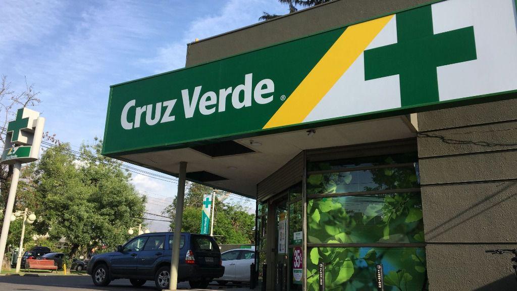 Farmacia de Cruz Verde en Chile
