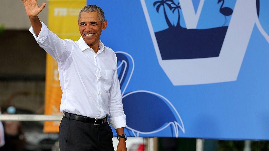 El expresidente estadounidense Barack Obama