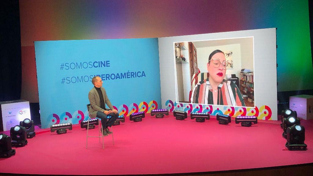 Encuentro con la actriz Daniela Vega en el Festival de Cine Iberoamericano de Huelva