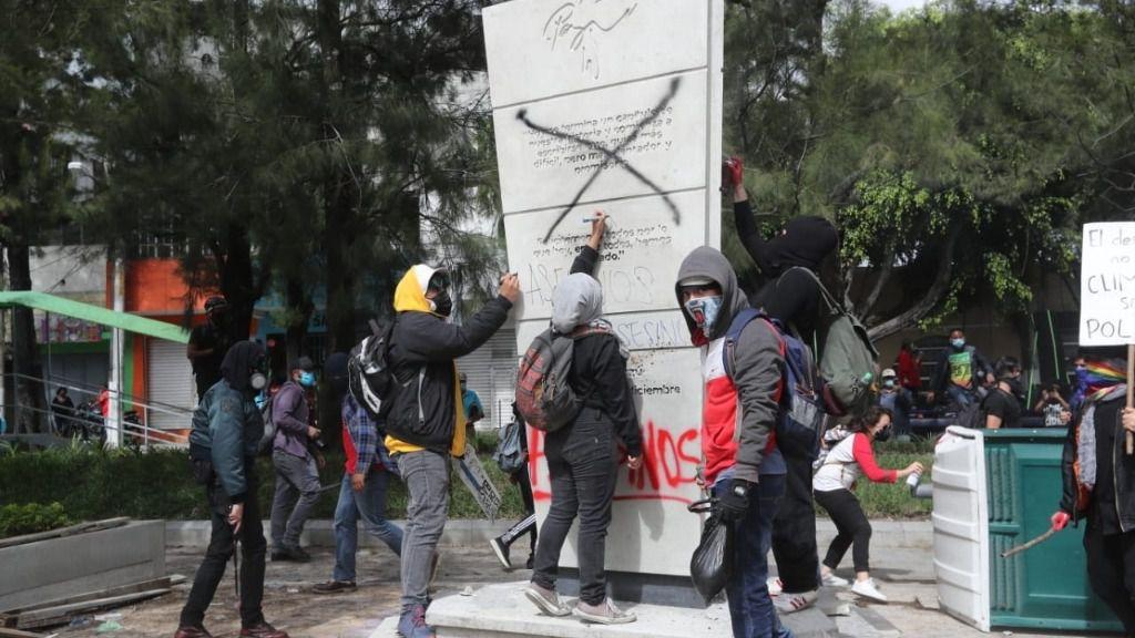 Protestas contra el presidente de Guatemala, Alejandro Giammattei