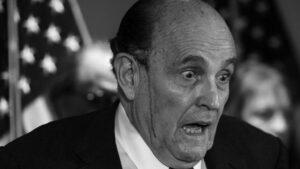 El abogado personal de Donald Trump, Rudy Giuliani.