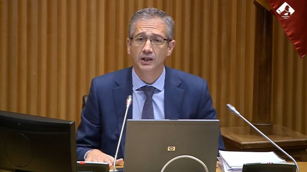 El gobernador del Banco de España, Pablo Hernández de Cos,